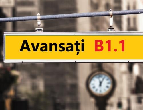 Curs limba germană avansați B1.1 – dimineața sau seara