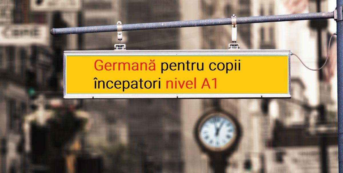 Curs germana pentru copii incepatori a1