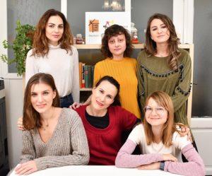 imagine cu echipa de profesoare de limba germana