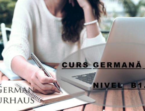 🅱️1.1 Curs Online Germană avansați 🌐